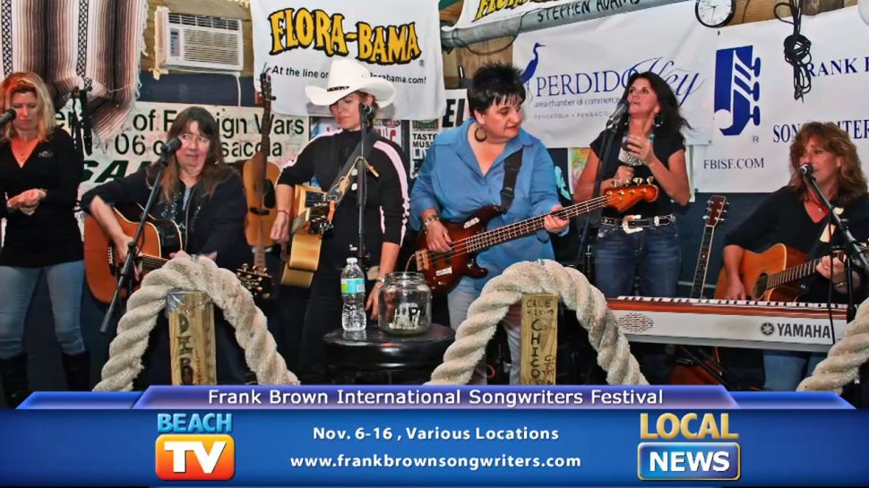 Frank Brown International Songwriters Festival - Local News