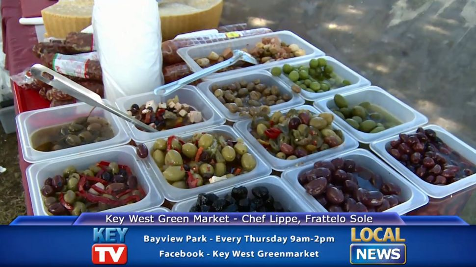 Chef Lippe from Fratello Sole at the Key West Green Market - Local News
