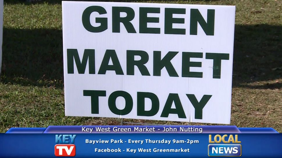 Key West Green Market's John Nutting - Local News