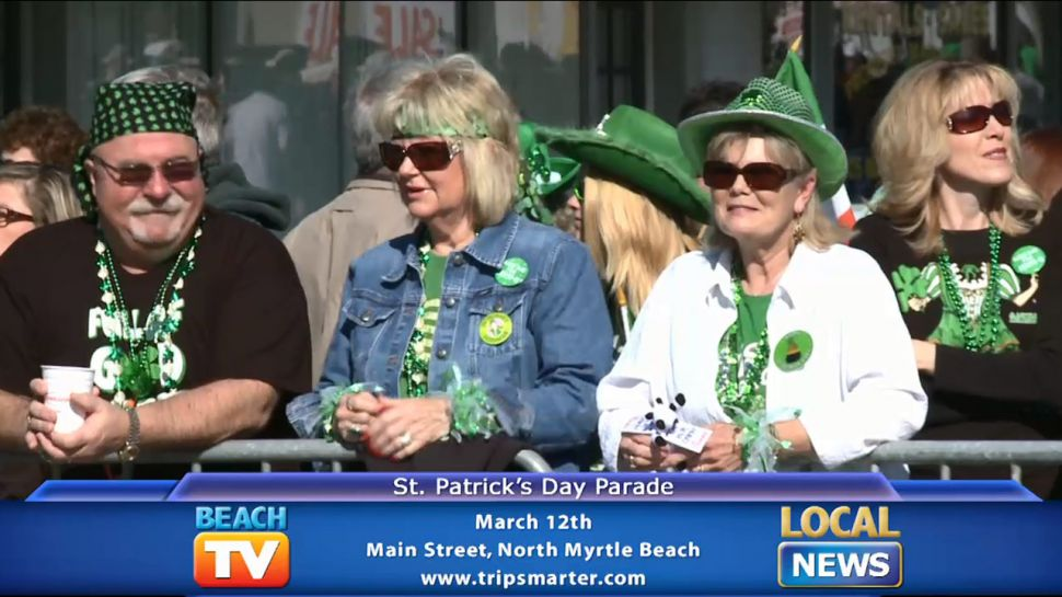 North Myrtle Beach St. Patrick's Day Parade - Local News
