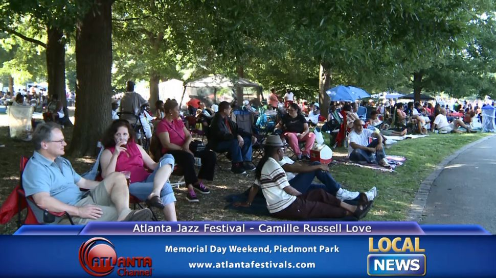 Camille Russell Love at the Atlanta Jazz Festival - Local News