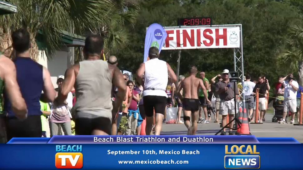 Beach Blast Triathlon - Local News