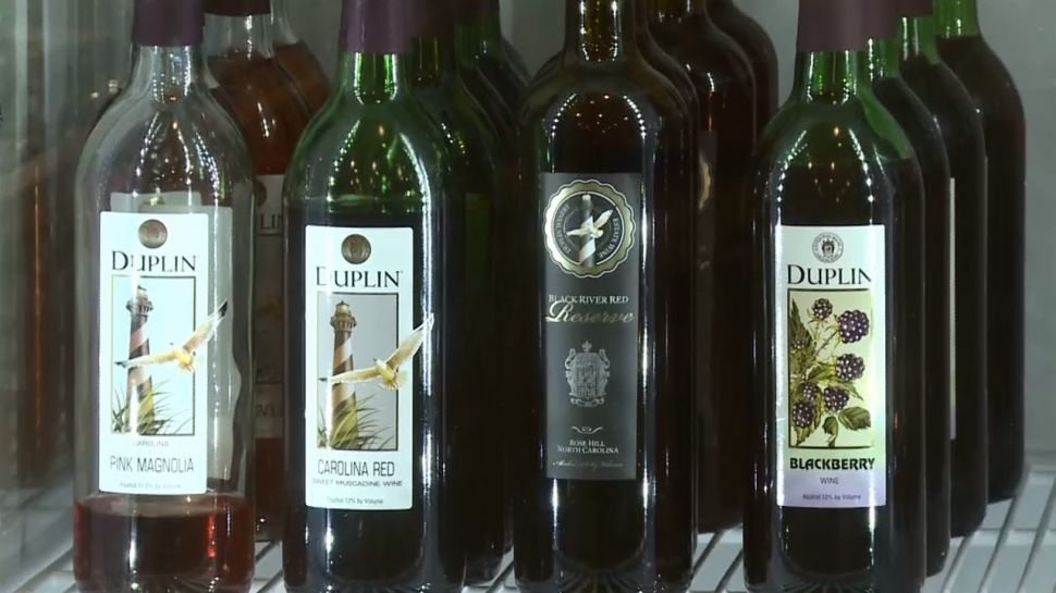 Duplin Winery Wine Tip - Where to Store Wine