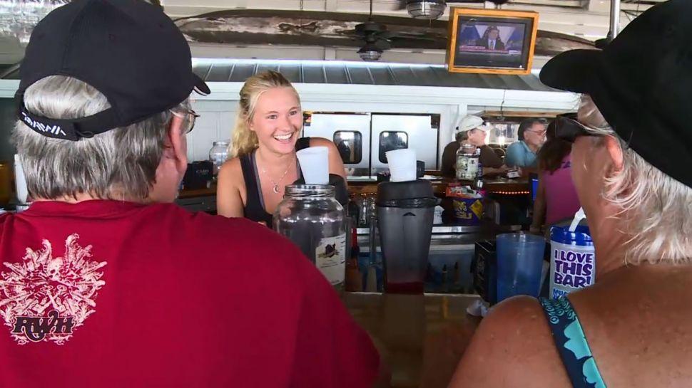 Emma Keller from Schooners - Behind Bars