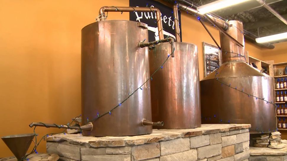 South Carolina Moonshine from Palmetto Distillery - A Note of History