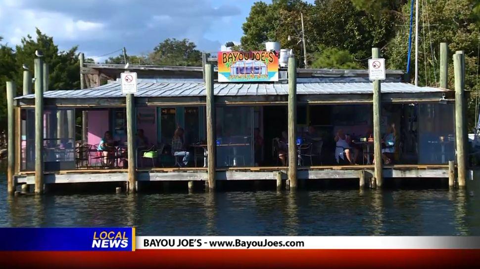 Bayou Joe's - Dining Tip