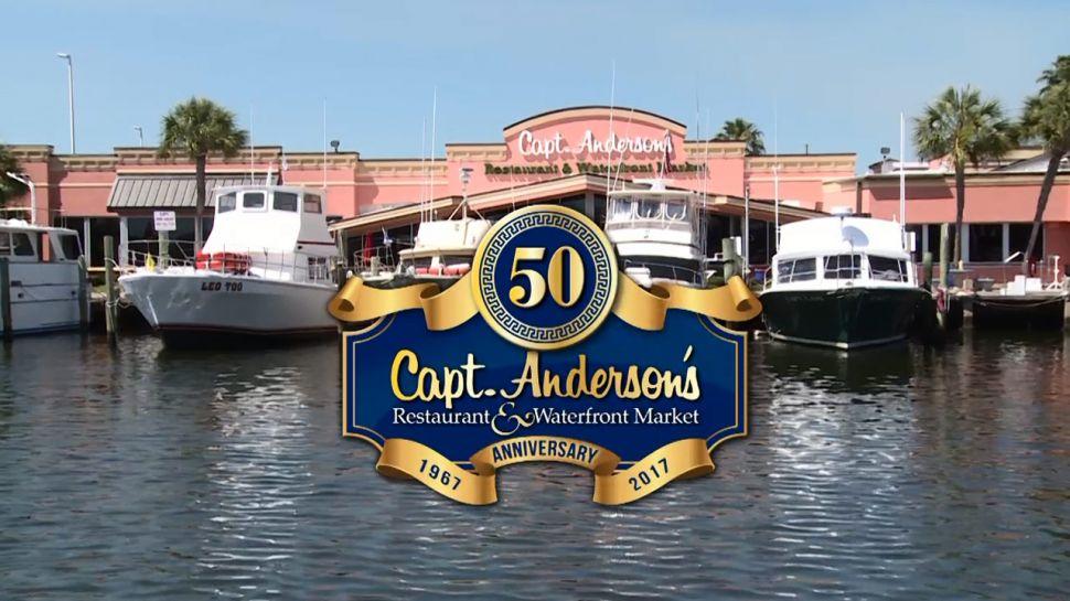 Capt. Anderson's 50th Anniversary