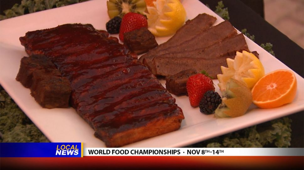 John Hamme from Spectrum Resorts at the World Food Championships - Local News