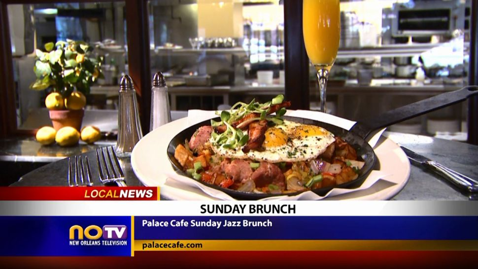 Palace Cafe Sunday Jazz Brunch - Local News
