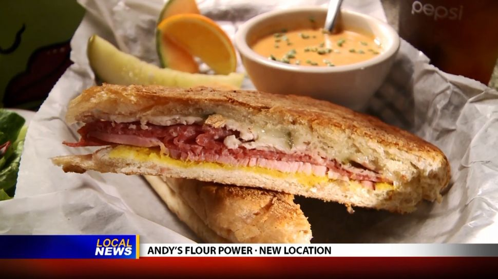 Andy's Flour Power New Location - Local News