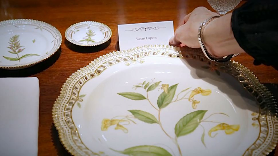 Flora Danica Porcelain Dinner Service at M.S. Rau
