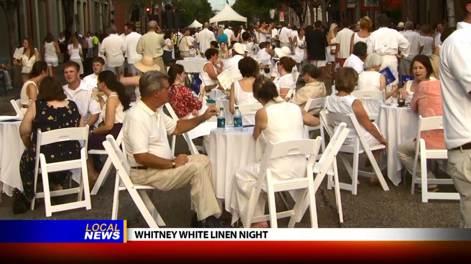 Whitney White Linen Night - Local News