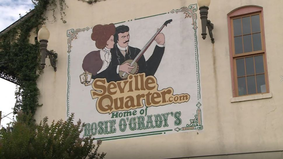 Seville Quarter - A Note of History