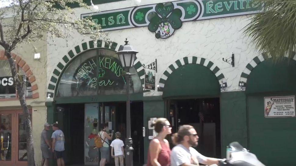 Dom Ursitti from Irish Kevin's Bar