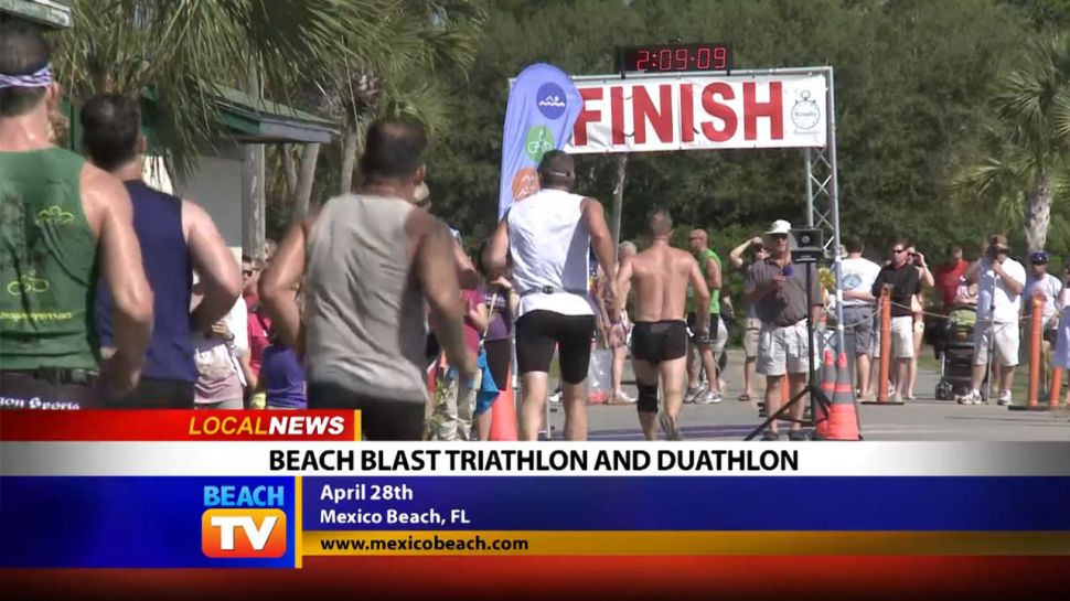 Beach Blast Triathlon and Duathlon - Local News