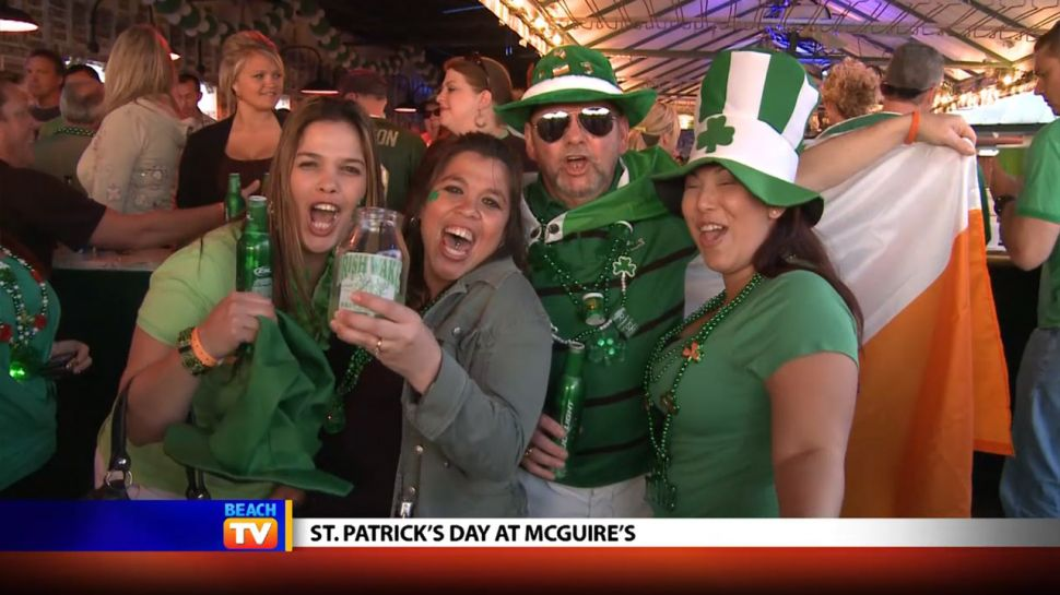 St. Patrick's Day at McGuire's