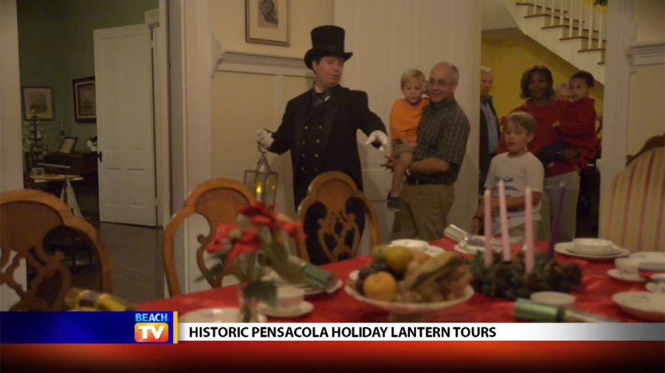 Historic Pensacola Holiday Lantern Tours
