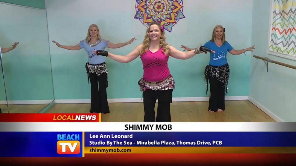 Shimmy Mob from Studio by the Sea - Local News