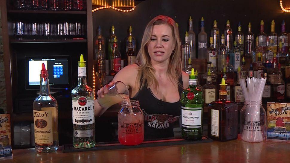 Bridgette from Wild Greg's Saloon - Behind Bars