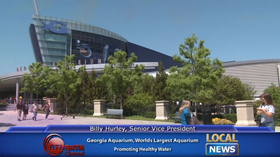 Georgia Aquarium's Billy Hurley Healthy Water - Local News