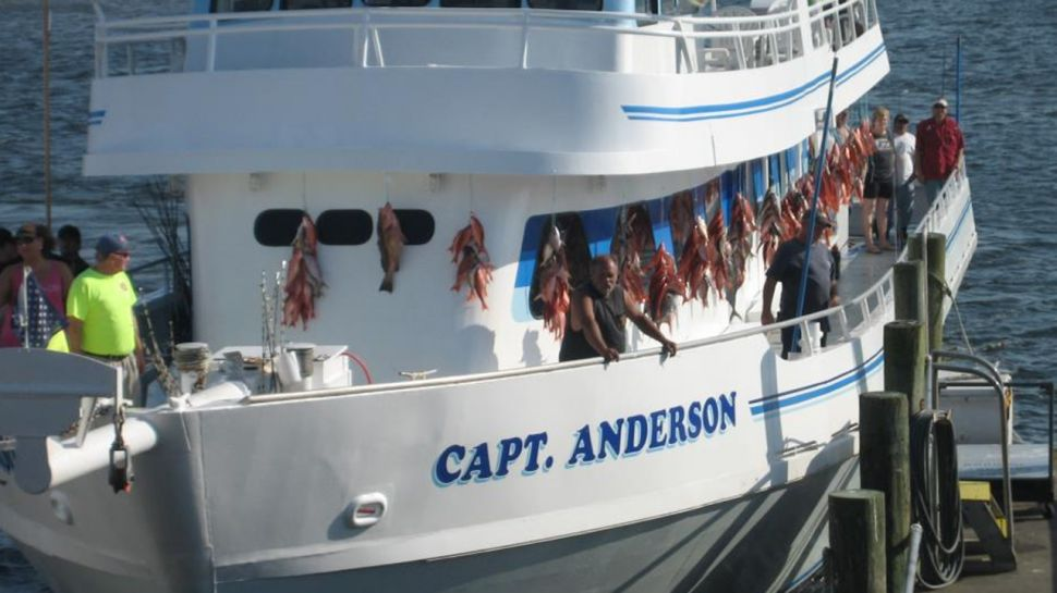 Capt. Anderson Fishing Boat