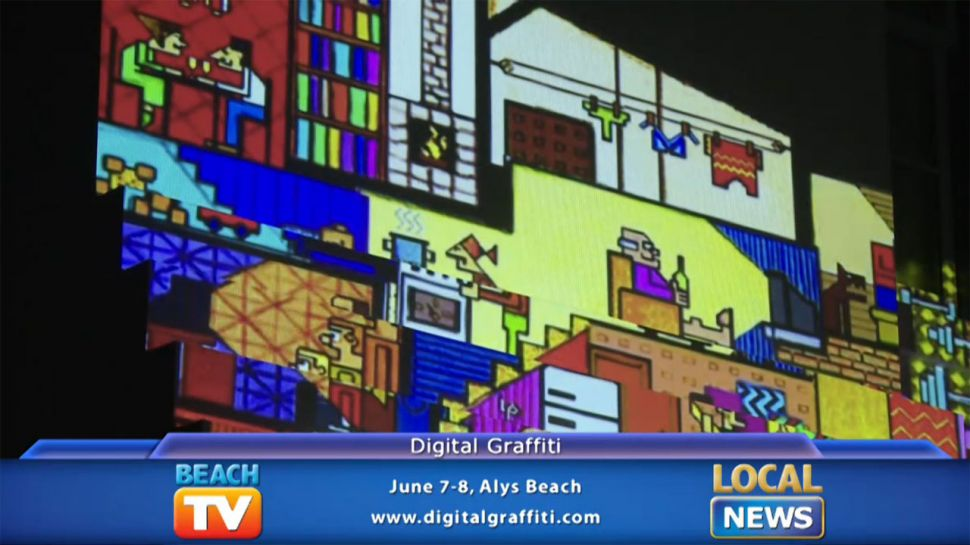 Digital Graffiti at Alys Beach - Local News