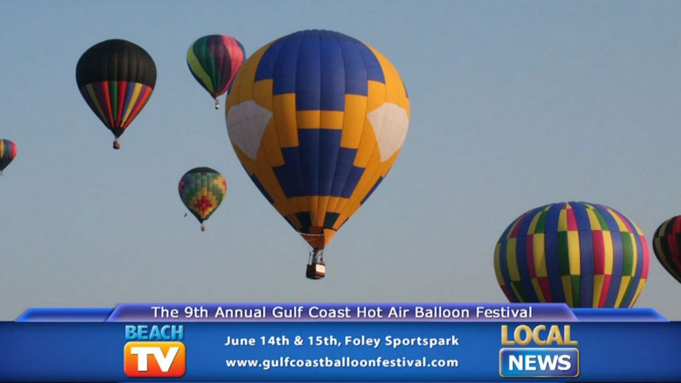 Gulf Coast Hot Air Balloon Fest -  Local News