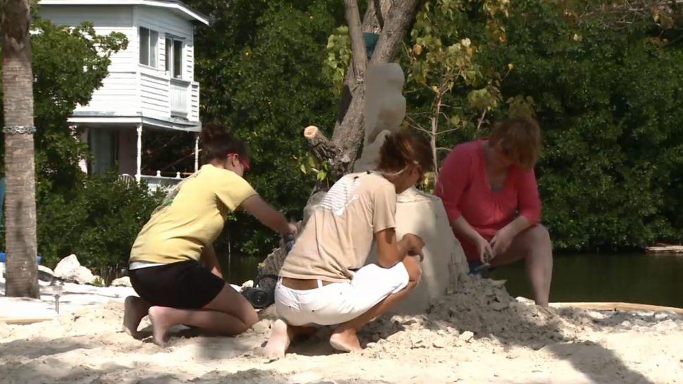 Chris Guinto & Marianne van den Broek from The Sandboxes of Key West