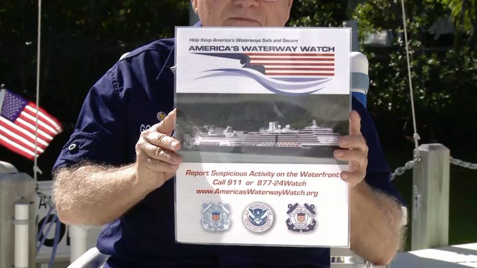 America's Waterway Watch and the US Coast Guard Auxiliary