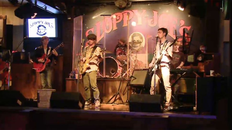 Flamethrowers at Sloppy Joe's - Music Scene