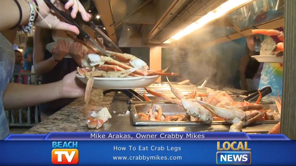 Crabby Mike's - How To Eat Crab Legs