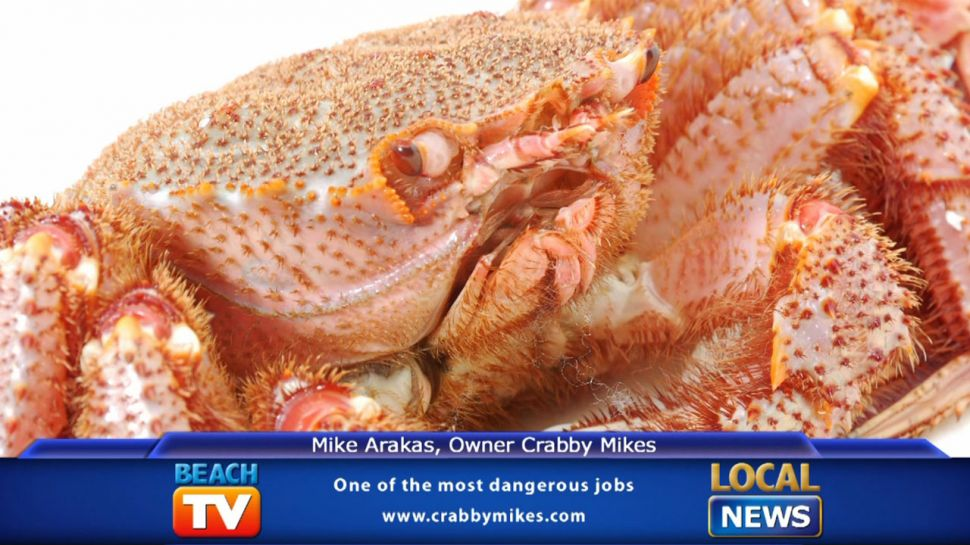 Crabby Mike's - Crab Fishing is a Dangerous Job