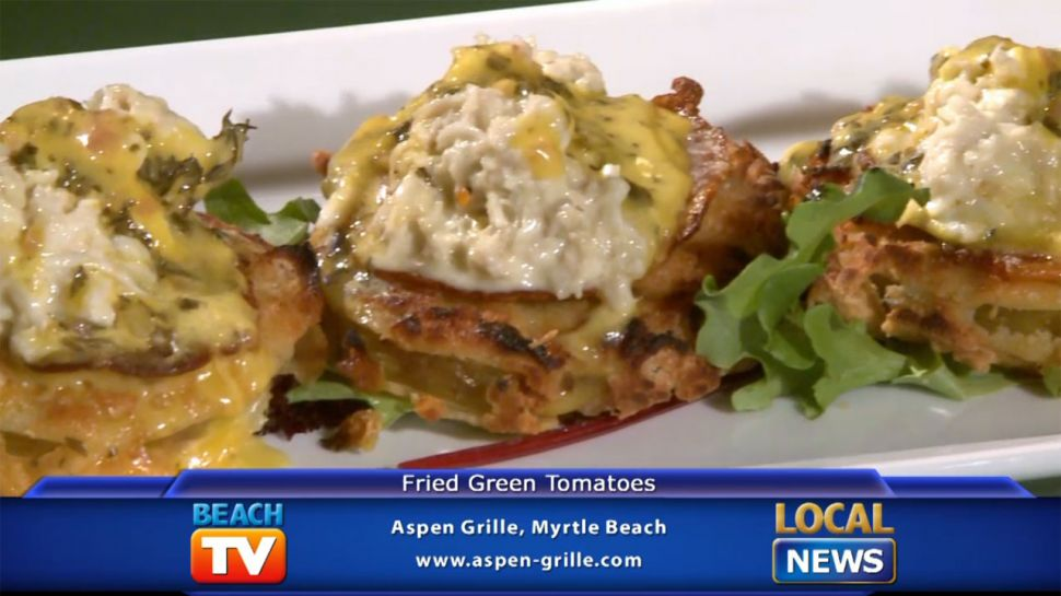 Aspen Grill&#039;s Fried Green Tomatoes - Dining Tip