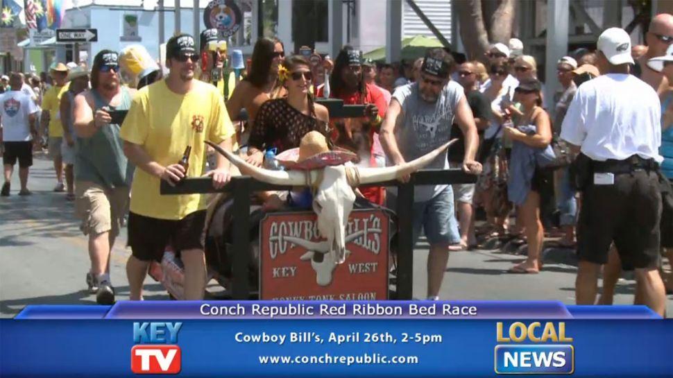Red Ribbon Bed Race at Cowboy Bills - Local News