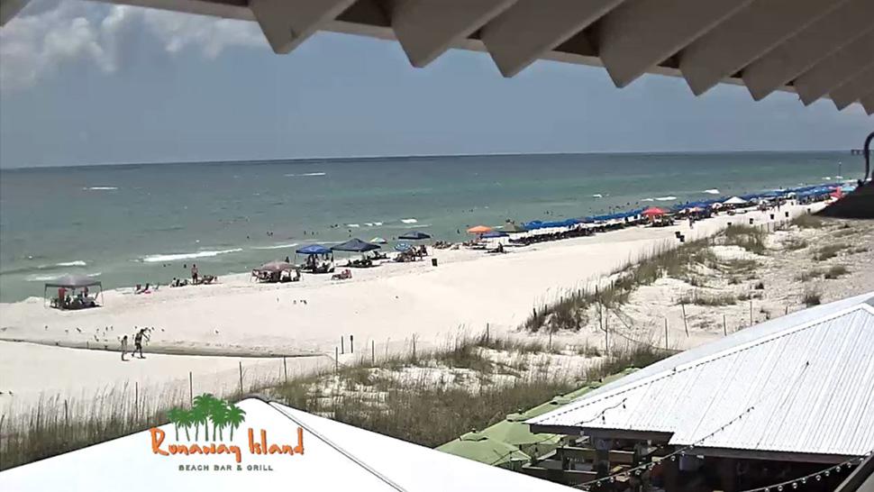 Runaway Island Beach Cam