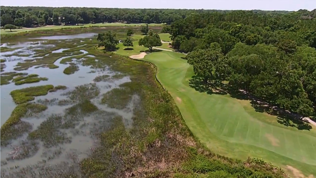 Pawleys Plantation 13th & 17th Holes - Spotlight