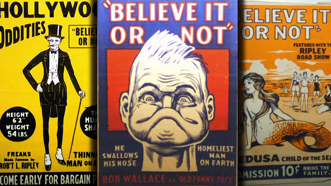 Ripley's Believe It Or Not - A Note of History