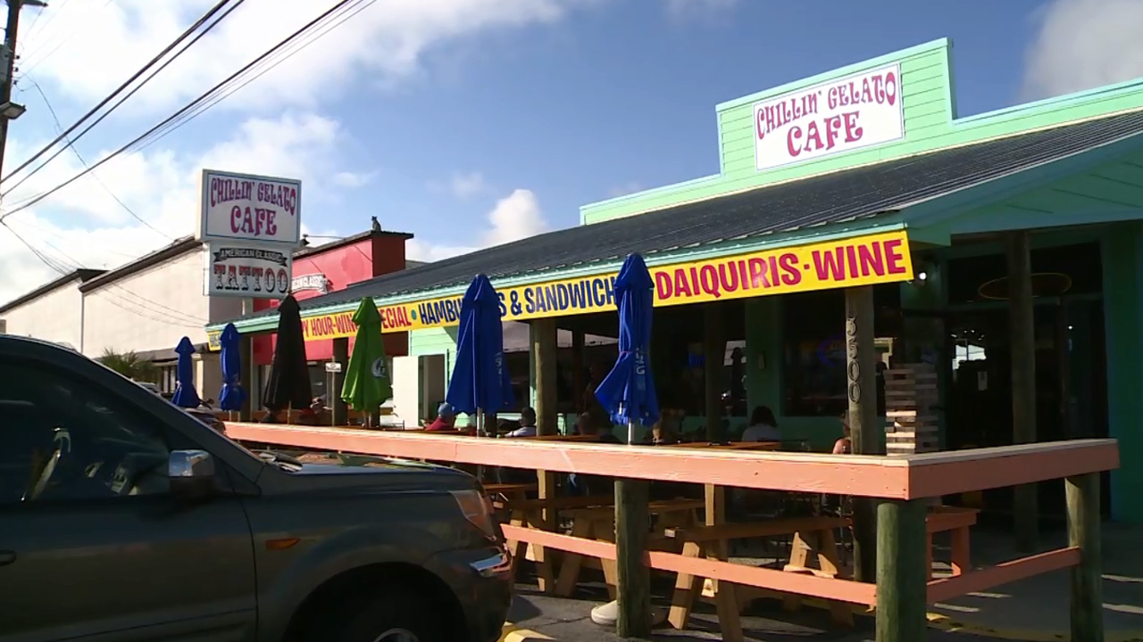 Eddie Wilson from Chillin' Gelato Beach Bar & Grill - Celebrity Chefs
