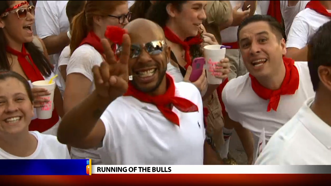 Running of the Bulls - Local News