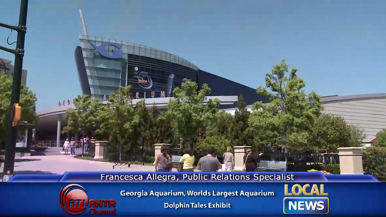 Dolphin Tales Exhibit at the Georgia Aquarium - Local News