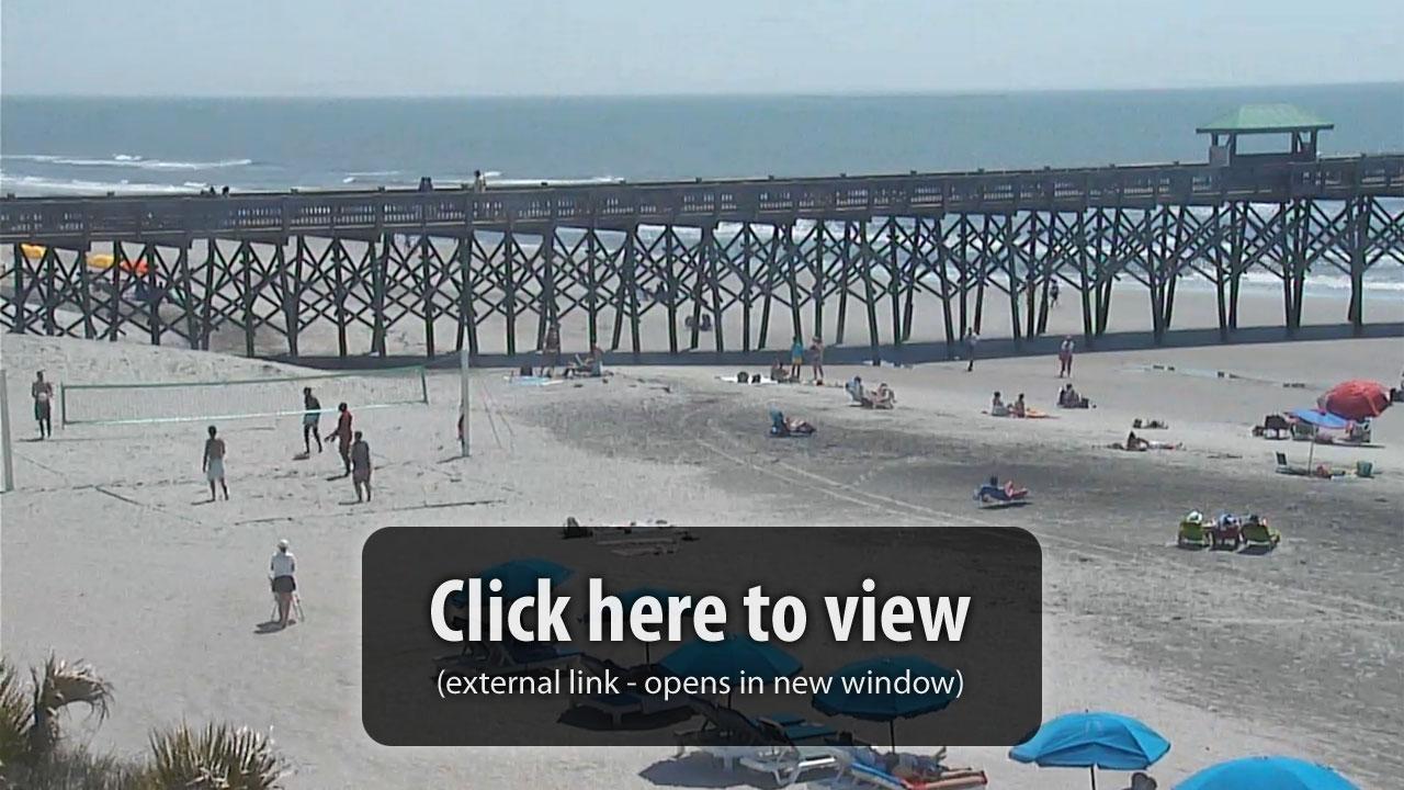 Folly Beach Live Web Cam   TripSmarter.Com