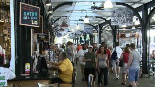 French Market in New Orleans - A Note of History
