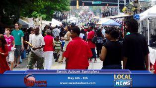 Sweet Auburn Springfest - Local News