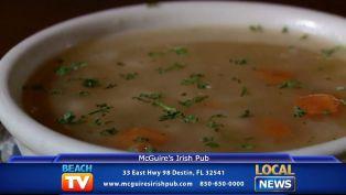 McGuire's Senate Bean Soup - Dining Tip