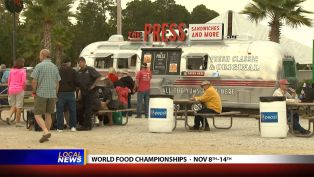 Mike McCloud at the World Food Championships - Local News