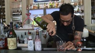 Billy Armijo from Cafe Adelaide and the Swizzle Stick Bar - Behind Bars