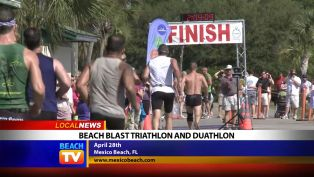 Beach Blast Triathlon and Duathlon - Local News