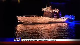 Schooner Wharf Boat Parade - Local News
