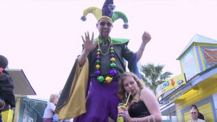 HarborWalk Village Mardi Gras Parade