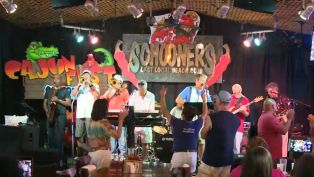 Heat and the Zydeco Gents at Cajun Festival - Nightlife